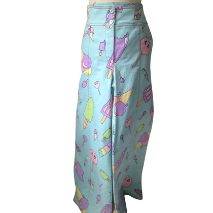 Christian Dior trousers with pattern print
