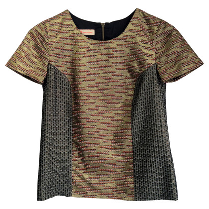 Matthew Williamson Shirt in metallic-look