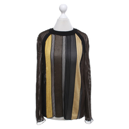 Louis Vuitton Blouse shirt with striped pattern