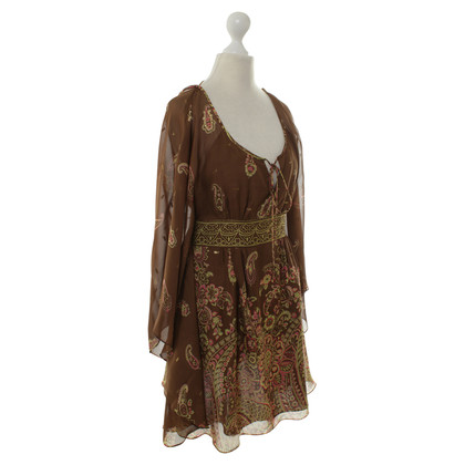 Tibi Silk tunic pattern