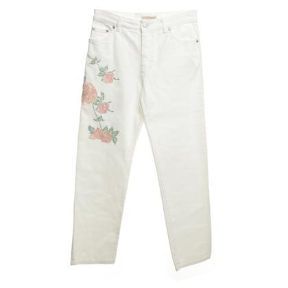 Blumarine Jeans in bianco