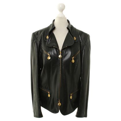 Rena Lange Leather jacket in black