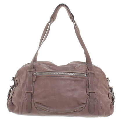 Vanessa Bruno Leather handbag in Brown