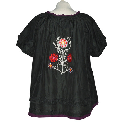 Odd Molly Cotton / silk tunic