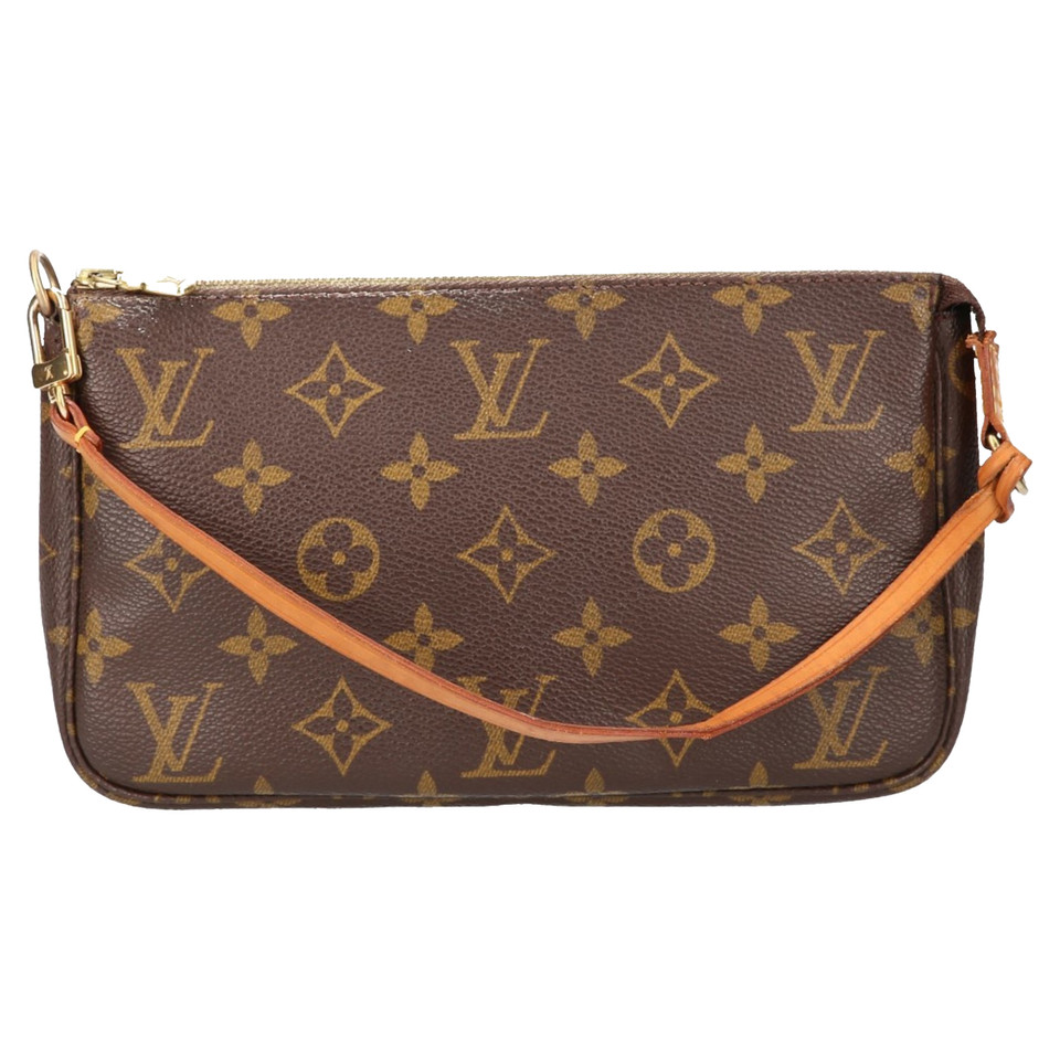 louis vuitton pochette accessories monogram canvas buy second hand louis vuitton pochette. Black Bedroom Furniture Sets. Home Design Ideas