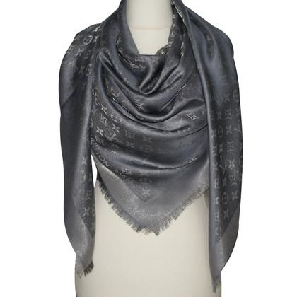 Louis Vuitton Panno Monogram Shine in argento / grigio