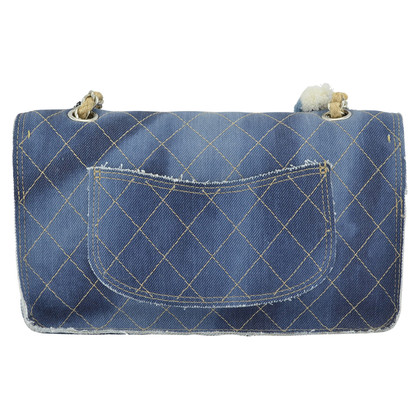 "Chanel ""Classic Flap Bag"" aus Denim"
