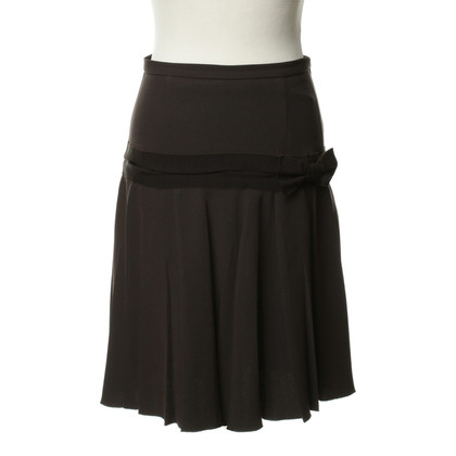 Moschino Cheap and Chic skirt Brown