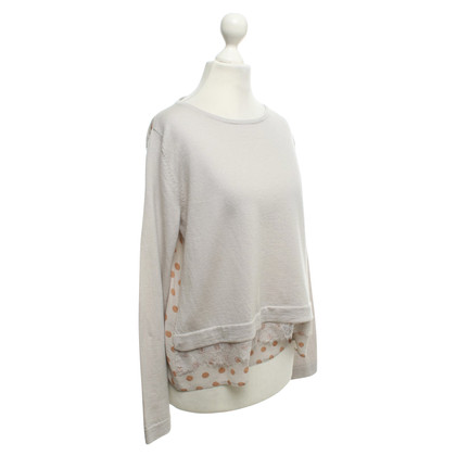 Luisa Cerano Sweater in Greige