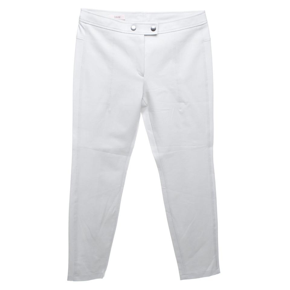 Laurèl pantaloni Capri in grigio chiaro