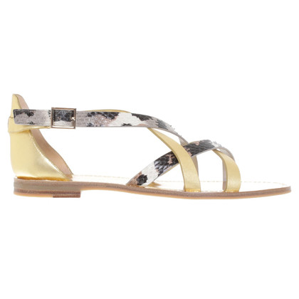 Diane von Furstenberg Sandals in gold