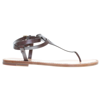 Santoni Sandals in Brown
