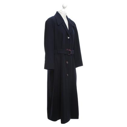 Marc Cain Coat in donkerblauw