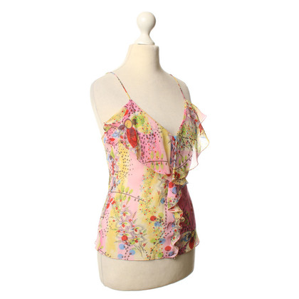 Christian Dior Top with floral pattern