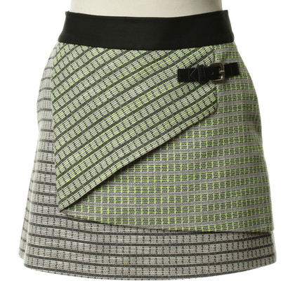 Karen Millen skirt with graphical pattern
