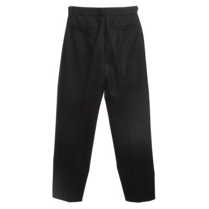 Prada Piega pantaloni in nero