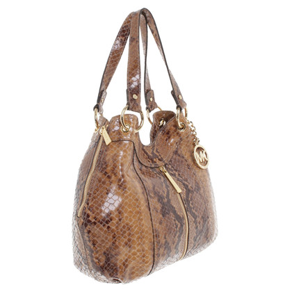 Michael Kors Handbag in reptile finish