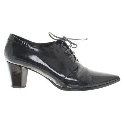 Jil Sander Ankle boots made of patent leather