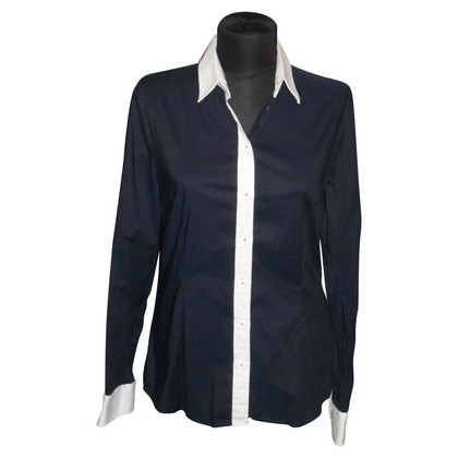 D&G Blusa in blu scuro
