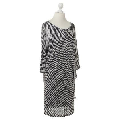 Velvet Dress with print