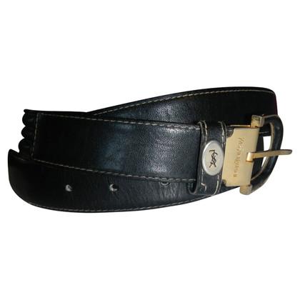 Yves Saint Laurent leather belt