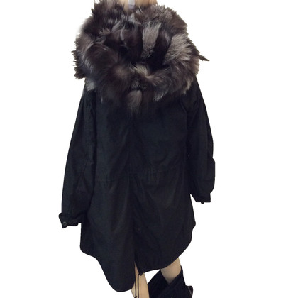 Other Designer Parka with Fox