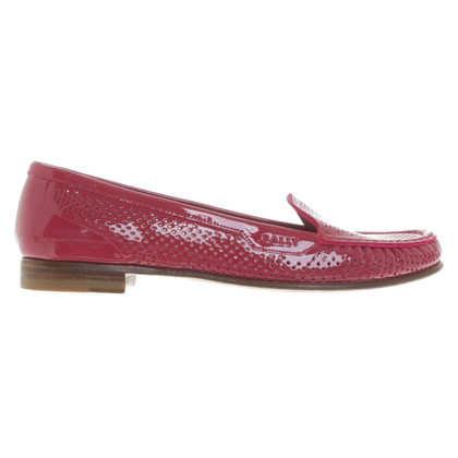 Bally Patent leather loafers