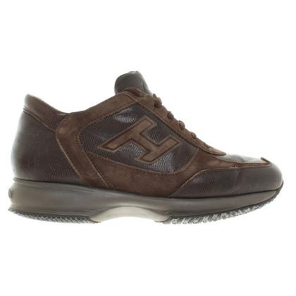 Hogan Brown sneakers