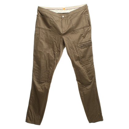 Boss Orange pantaloni ocra