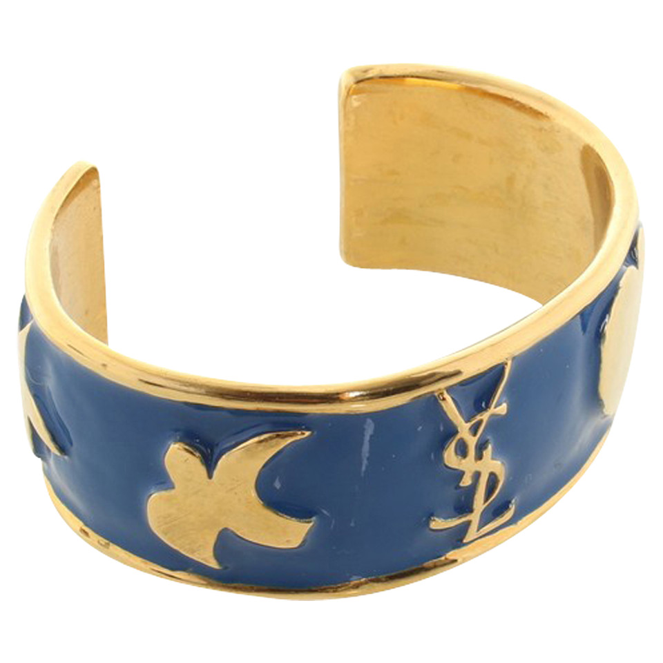 Yves Saint Laurent Bracelet in blue