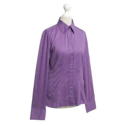Hugo Boss Bluse in Violett