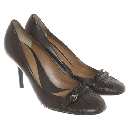 Bally pumps in donkerbruin