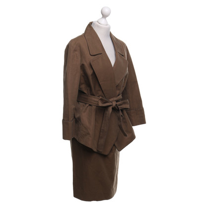Yves Saint Laurent Costume en kaki