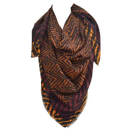 Burberry motifs écharpe de soie