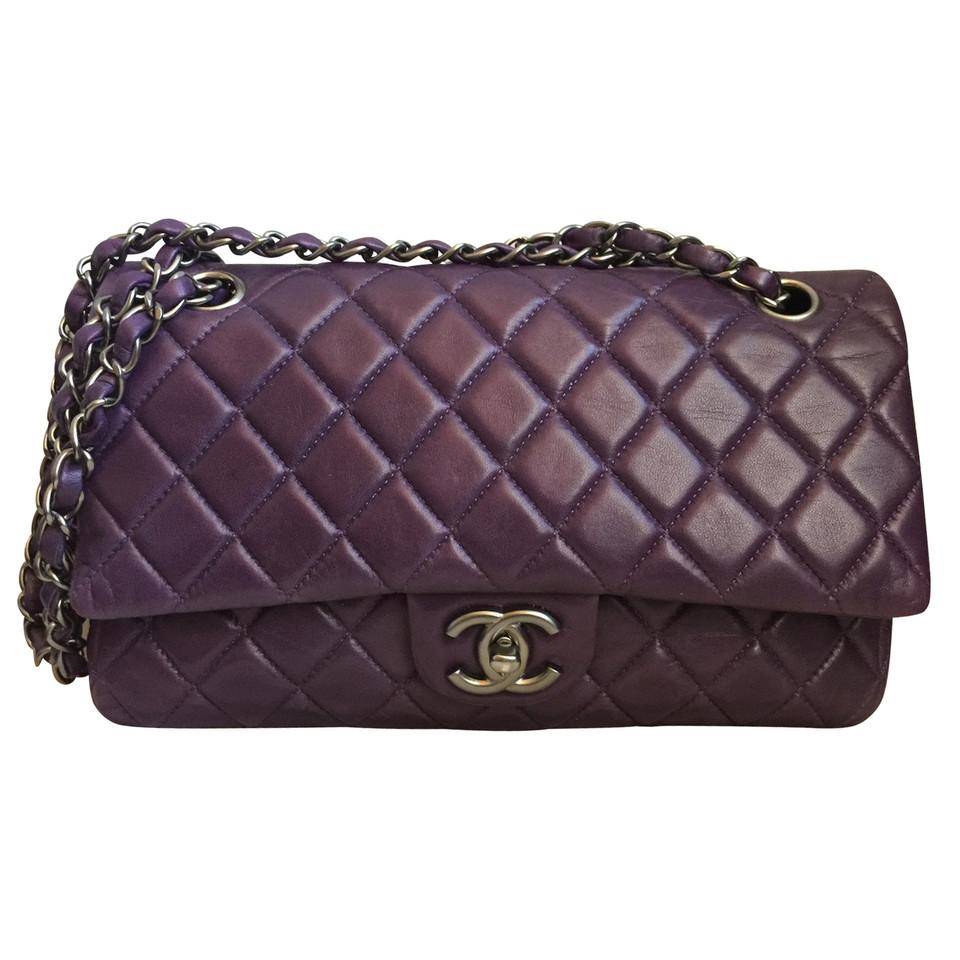 Chanel 2 55 Double Flap Bag Medium