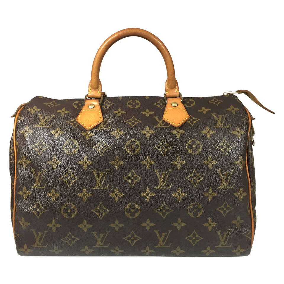 louis vuitton speedy 30 monogram canvas buy second hand louis vuitton speedy 30 monogram. Black Bedroom Furniture Sets. Home Design Ideas