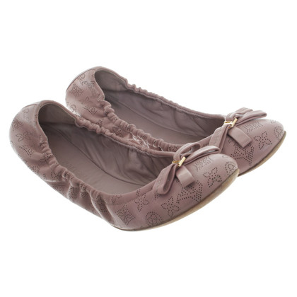 Louis Vuitton Ballerinas mit Monogram-Muster