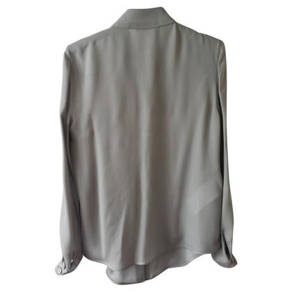 Armani Blusa in seta grigio