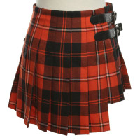 Dolce & Gabbana skirt with checked pattern