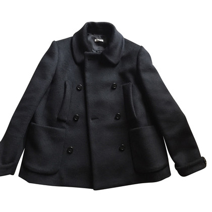 Miu Miu Coat of wool / silk