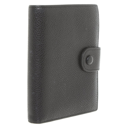Chanel Portemonnaie in Schwarz