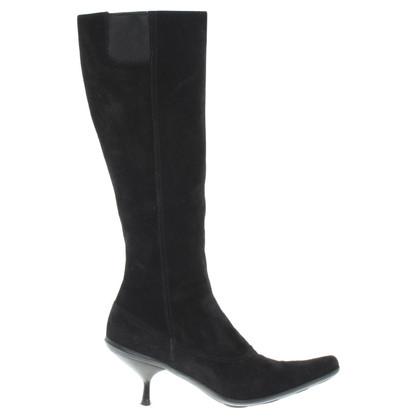 Miu Miu Boots in zwart