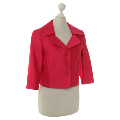 Hobbs Short Blazer in pink