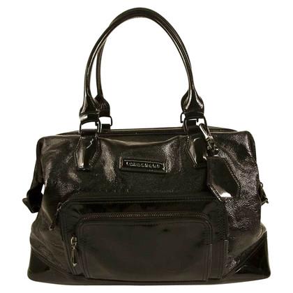 Longchamp Schwarze Umhängetasche