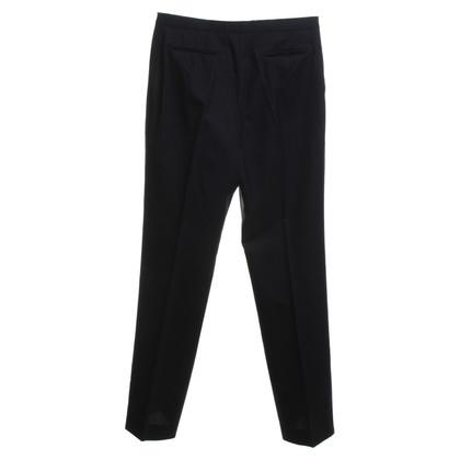 Jil Sander trousers in dark blue
