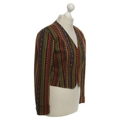 Kenzo Kort jasje met etnische patronen