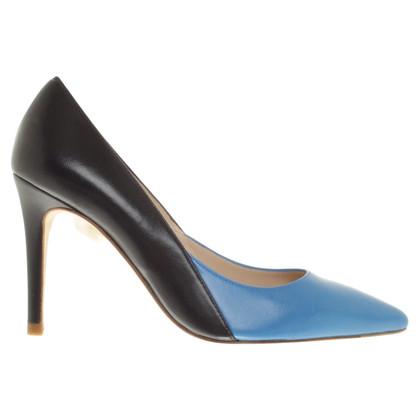 L.K. Bennett pumps en bleu