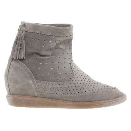 Isabel Marant Sneaker ankle boots with wedge heel