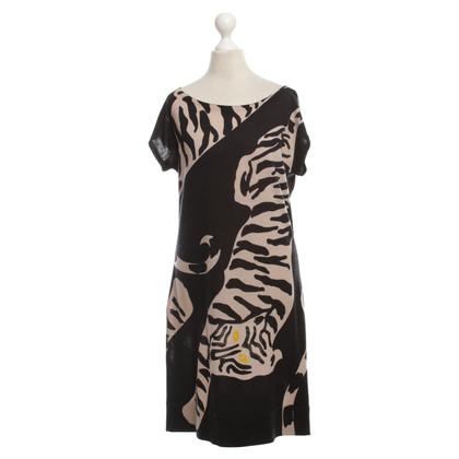 Diane von Furstenberg Strickkleid mit Tiger-Muster