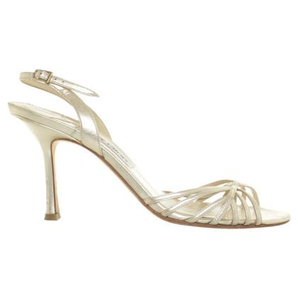 Jimmy Choo Gouden sandalen